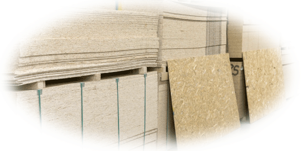 osb, plywood, hardboard, siding