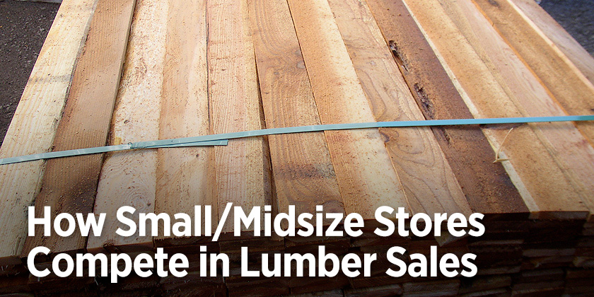 Lumber Sales - How Small Stores Compete